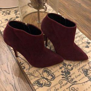 Shoe Mint Heeled Boots